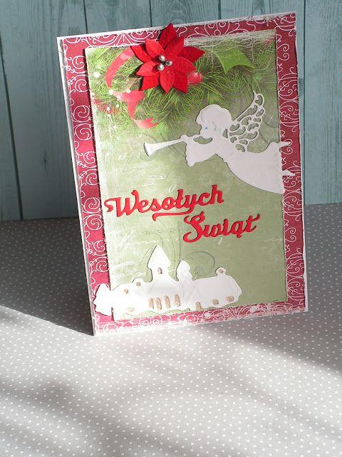 MÓJ ŚWIAT -scrapbooking, decoupage : 1008 dwie proste karteczki świąteczne