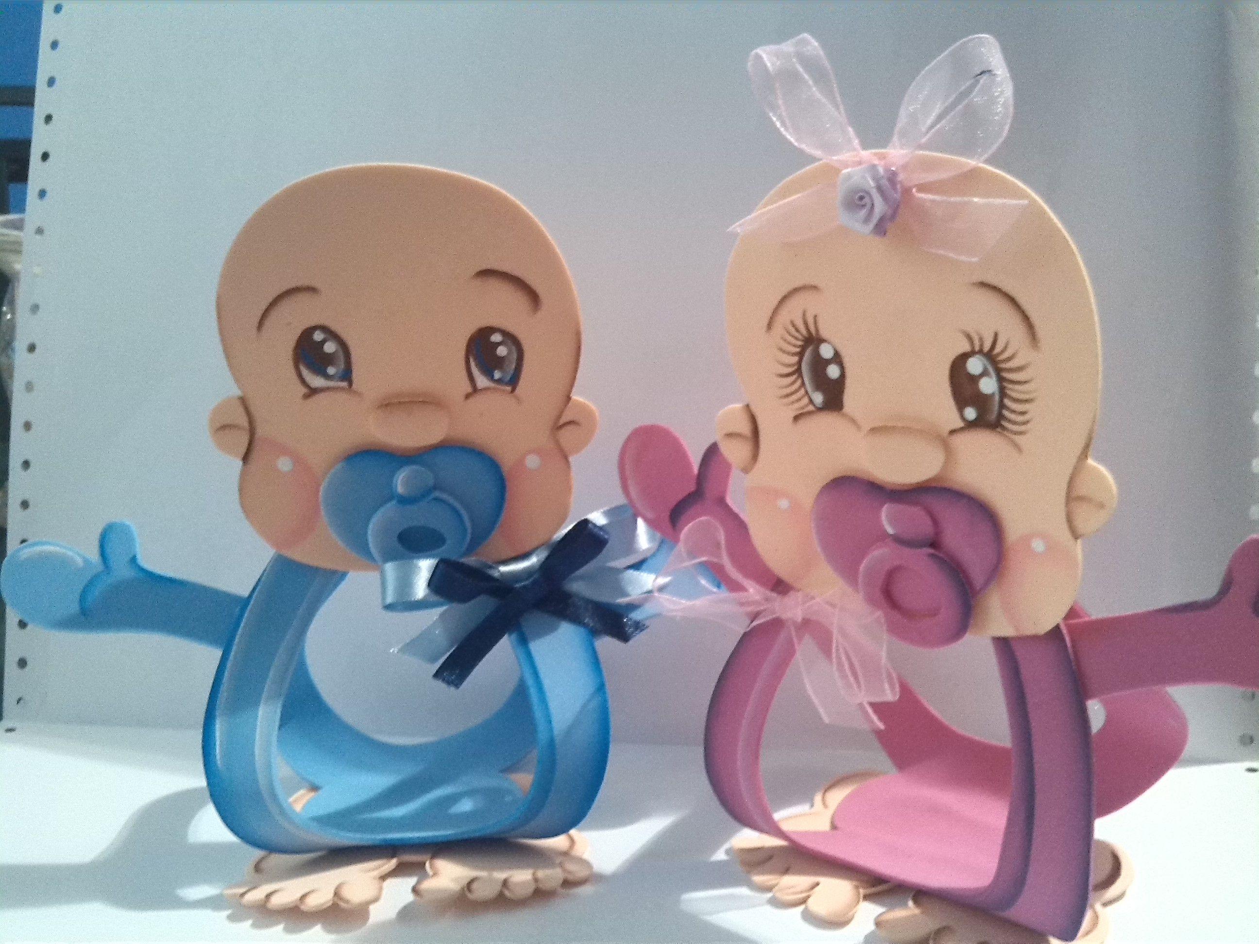 dulceros de foami para baby shower