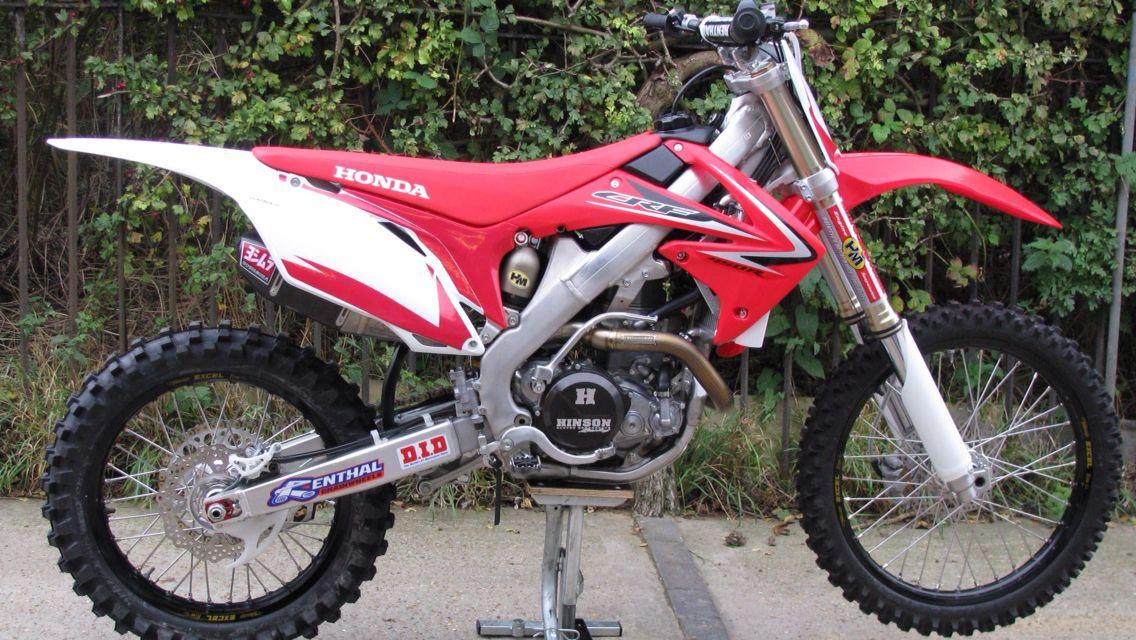 Honda Crf 250 R Moto De Trilha Motos C R F