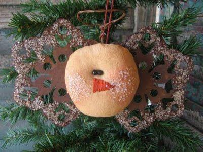 Country Living Grandma primitive crafts christmas Pinterest - primitive christmas decorations