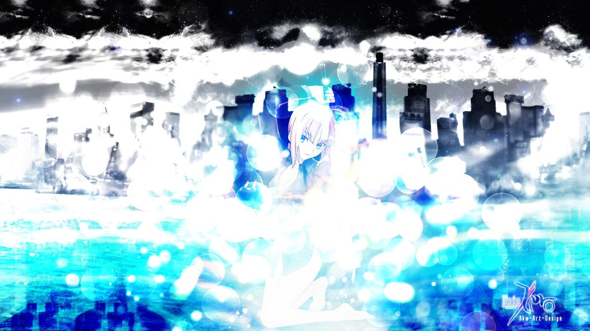 Fate Zero Saber by AkwArtDesign on deviantART Art