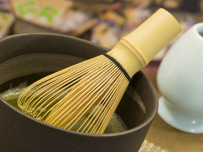 Bamboo Matcha Whisk This traditional bamboo whisk is