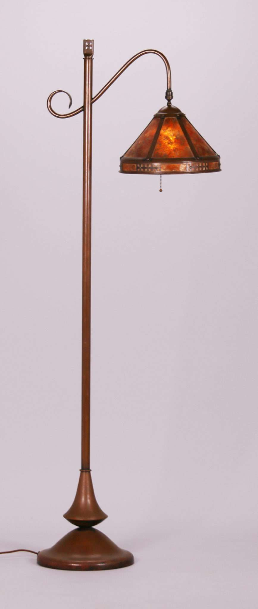 Rare important dirk van erp hammered copper and mica floor lamp rare important dirk van erp hammered copper and mica floor lamp with repeating dutch aloadofball Image collections