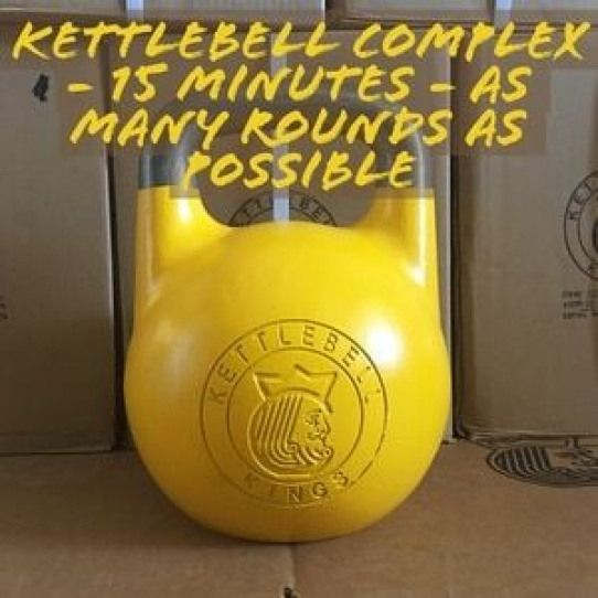 Kettlebell Complexes are the perfect way to fit in an efficient and effective workout in a short per...