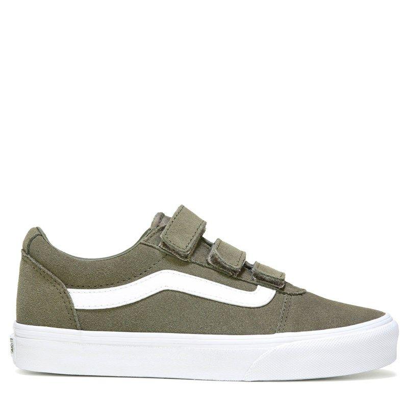 be75086dd16daa Vans Women s Ward V Strap Sneakers (Dusky Green)