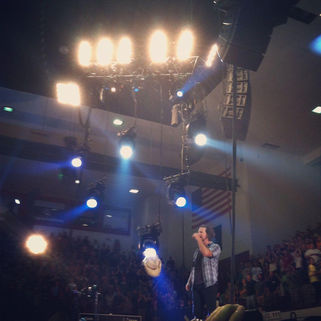 Eddie Vedder (Pearl Jam) - Adams Center, Missoula