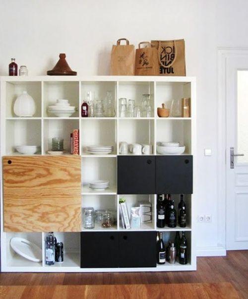 stauraum ideen im wohnzimmer 30 pfiffige einrichtungen home pinterest stauraum ideen. Black Bedroom Furniture Sets. Home Design Ideas