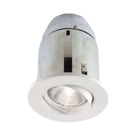 Bazz 5 In White Recessed Halogen Lighting Kit Can Lights Recessed Can Lights Light Fixtures