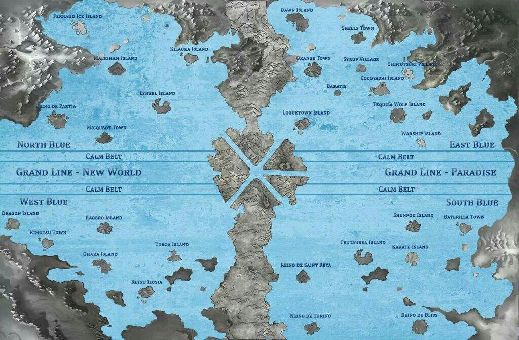 Pin By Julio Cesar Rodriguies Da Silv On One Piece World Map Printable One Piece World Us Map