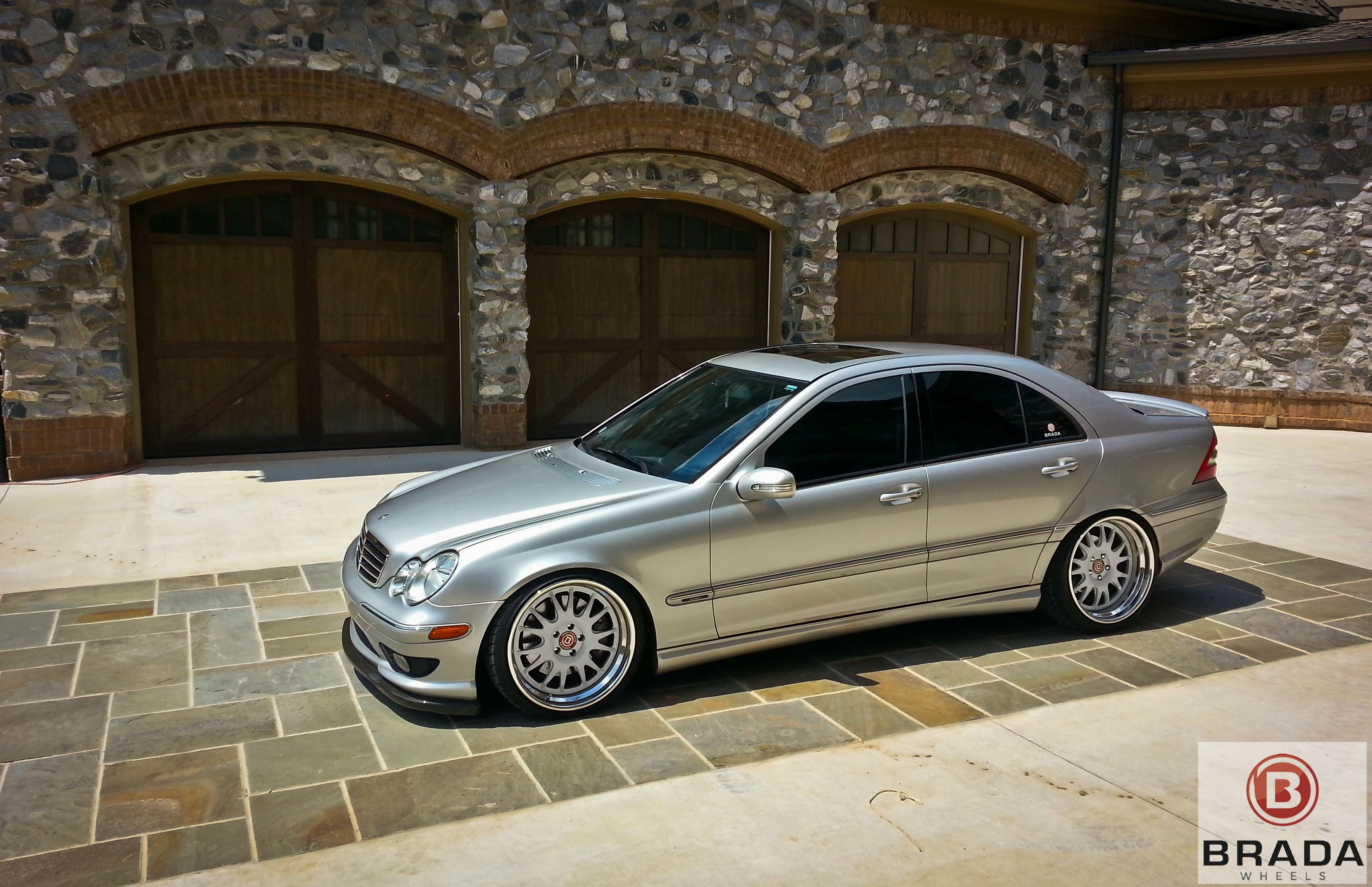 brada wheels br7 mercedes benz c230 supercharged