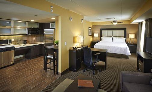 Homewood Suites By Hilton Hamilton Ontario Canada King Suite