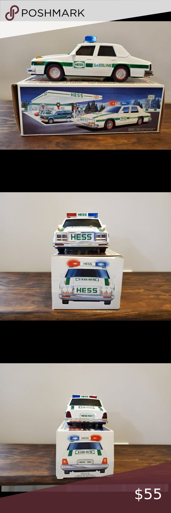 1993 Hess Patrol Car New Hess 1993 Patrol Car With Box Excellent Condition Only Taken Out Of Box F Disney Cars Diecast Thomas The Train Toys Hess Toy Trucks [ 1740 x 580 Pixel ]