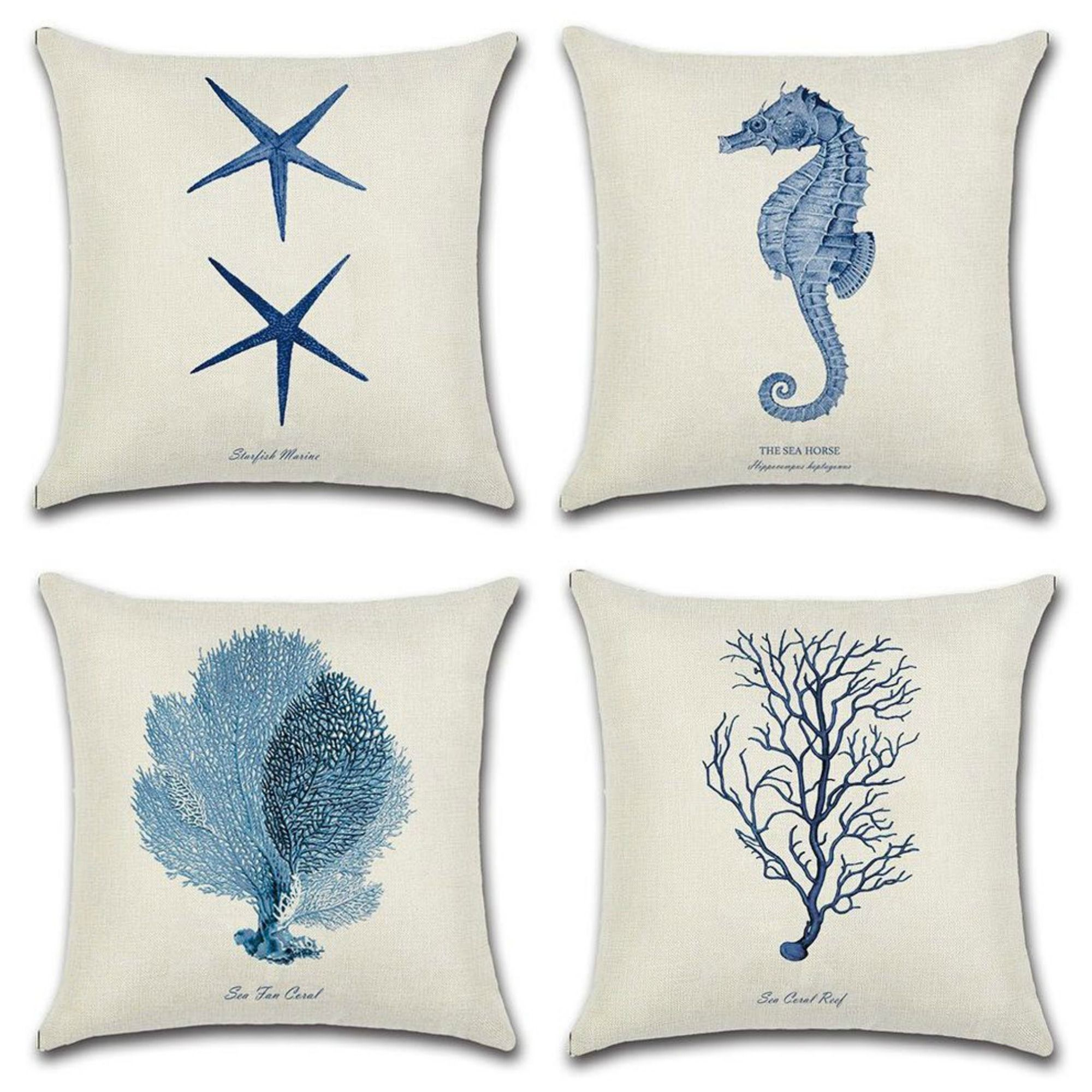 Add A Little Nautical To Your Sofa Or Bed With These Gorgeous Pillows Linen Throw Pillow Throw Cushion Covers Linen Pillow Cases