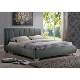 Baxton Studio Marzenia Grey Queen Platform Bed Bbt6085 Queen Grey