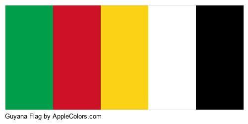Iris Swag Pin World Flagstone Guyana Sag Signal Flag Flag Ensign Fleur De Lis National Flag Sword Lily #009e4a #ce1127 #fcd216 #ffffff #000000