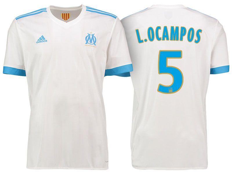 Maillot Domicile Olympique de Marseille Lucas OCAMPOS