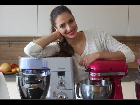 Küchenmaschinen-Check Kitchenaid vs Kenwood vs Thermomix - kochen mit küchenmaschine
