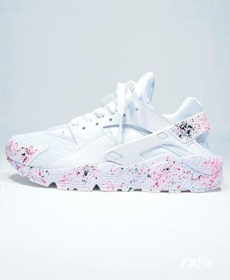En Bstreetshoes Mano Por Personalizado Nikesdiente Pintado Blanco A wAcSf6zxqa