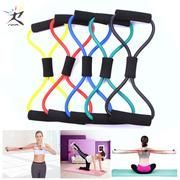 8 Word Fitness Rope Resistance Bands Rubber Bands for Fitness Elastic Band Fitness Equipment Expande...