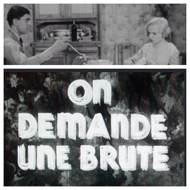 On demande une brute (Brute Wanted) (1934) directed by Charles Barrios - 23 minutes  #JacquesTati second short (the first has been lost) in which he plays a struggling hen-pecked actor who gets his big break as a wrestler.  Available in French with English subtitles on the #CriterionCollection The Complete Jacques Tati boxset and #Studiocanal The Jacques Tati Collection.  Jacques Tati #1