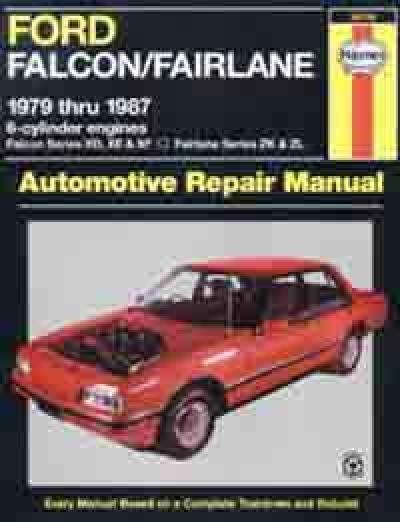 ford xf manual