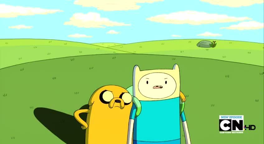 Adventure Time Season 3 Episode 9b The New Frontier | Watch