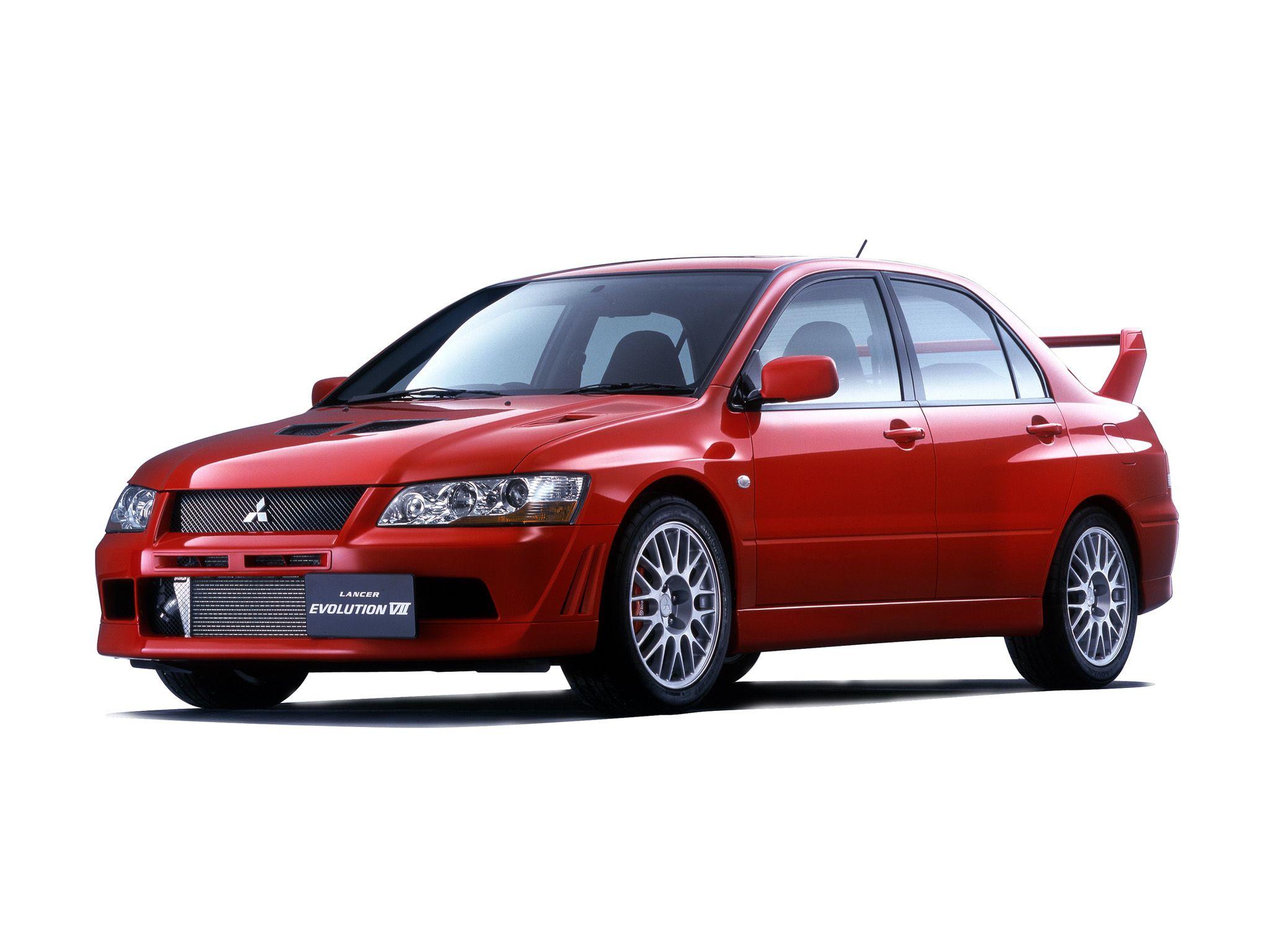 2001 Mitsubishi Lancer GSR Evolution VII Mitsubishi