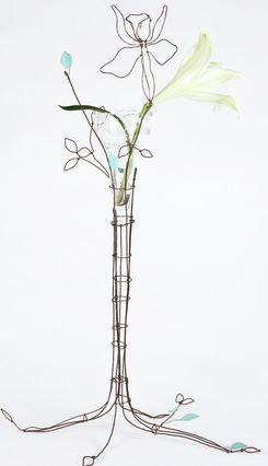 wirework by Marie Christophe via lisa fontnarosa