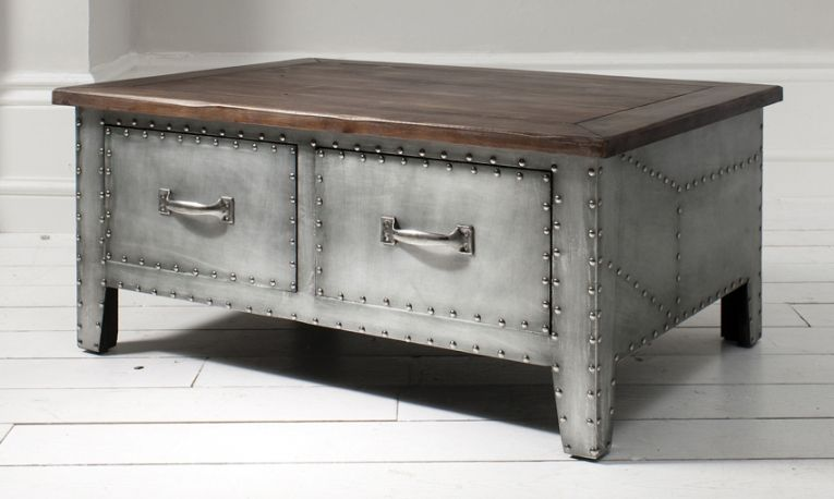 Merveilleux Image For Cool Metal Coffee Tables