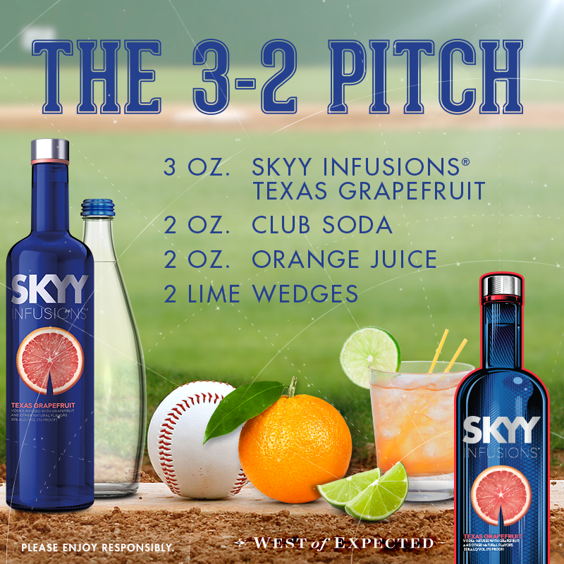 We're Like The Knuckleball Of Vodkas. #OpeningDay
