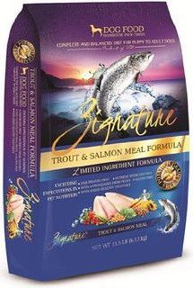 Zignature Trout Salmon Meal Limited Ingredient Formula Dry