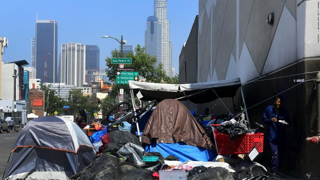 These Are The States Where Homelessness Has Increased And Decreased The Most Cnn Skid Row Los Angeles Homeless People