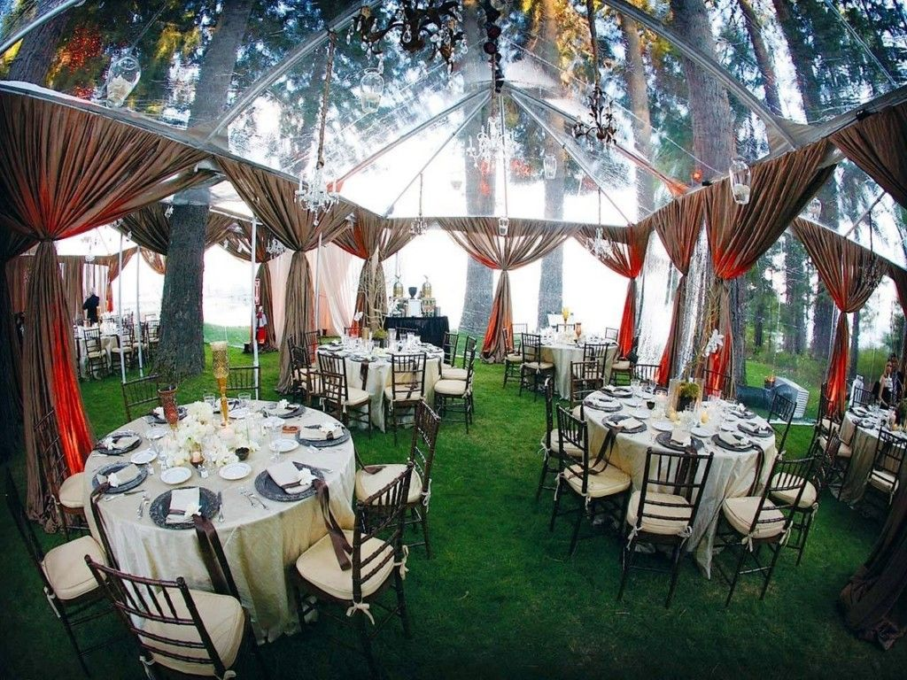 Creative And Beautiful Backyard Wedding Ideas