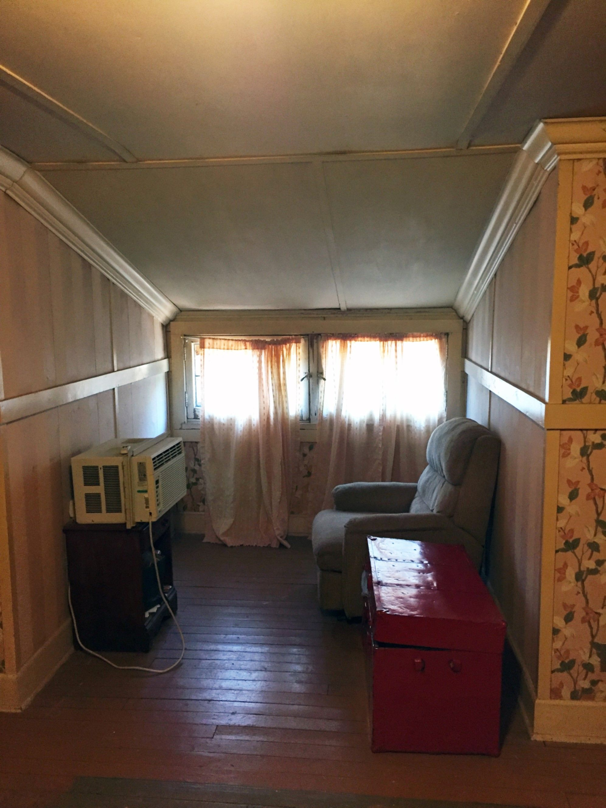 The Attic Nook Which Is Now An Extension Of The Master Bedroom