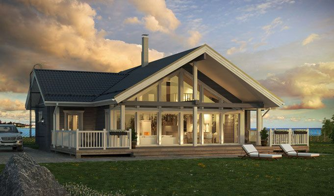 Modèle et plan de maison Poteaux-poutres par le constructeur NEHOME