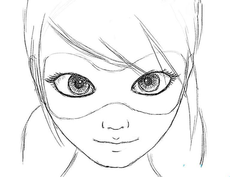 Рисунки для срисовки Леди Баг и Супер Кот (30 картинок) в ...