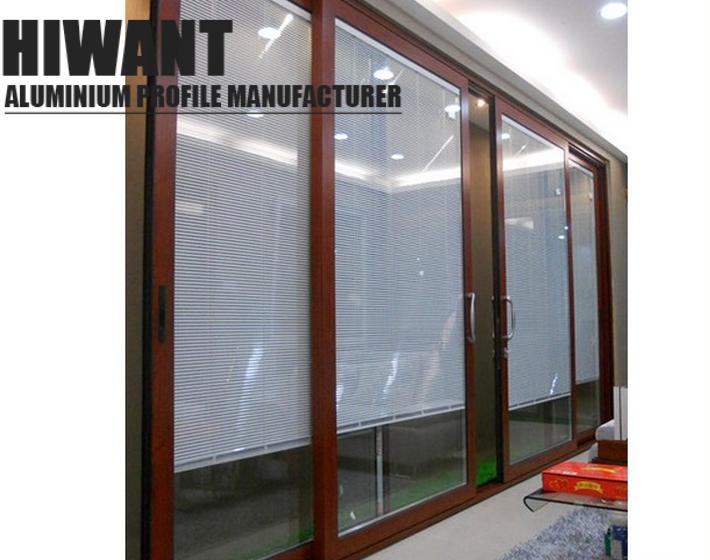Modern Design   Custom   Wood-Like Finish   Aluminium Frame For ...