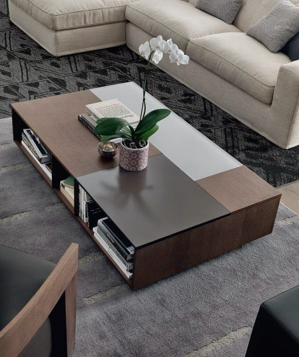 19 Stylish Wood Coffee Table Designs For Minimalist Living Room