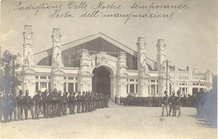 Fotografia fotoreportage - Padiglione delle Mostre Temporanee-Festa dell'inaugurazione