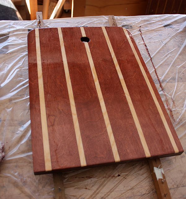 Teak and holly cabin sole the easiest and least expensive way for Least expensive house to build