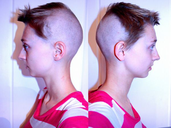 30 Oustanding Half Shaved Hairstyles
