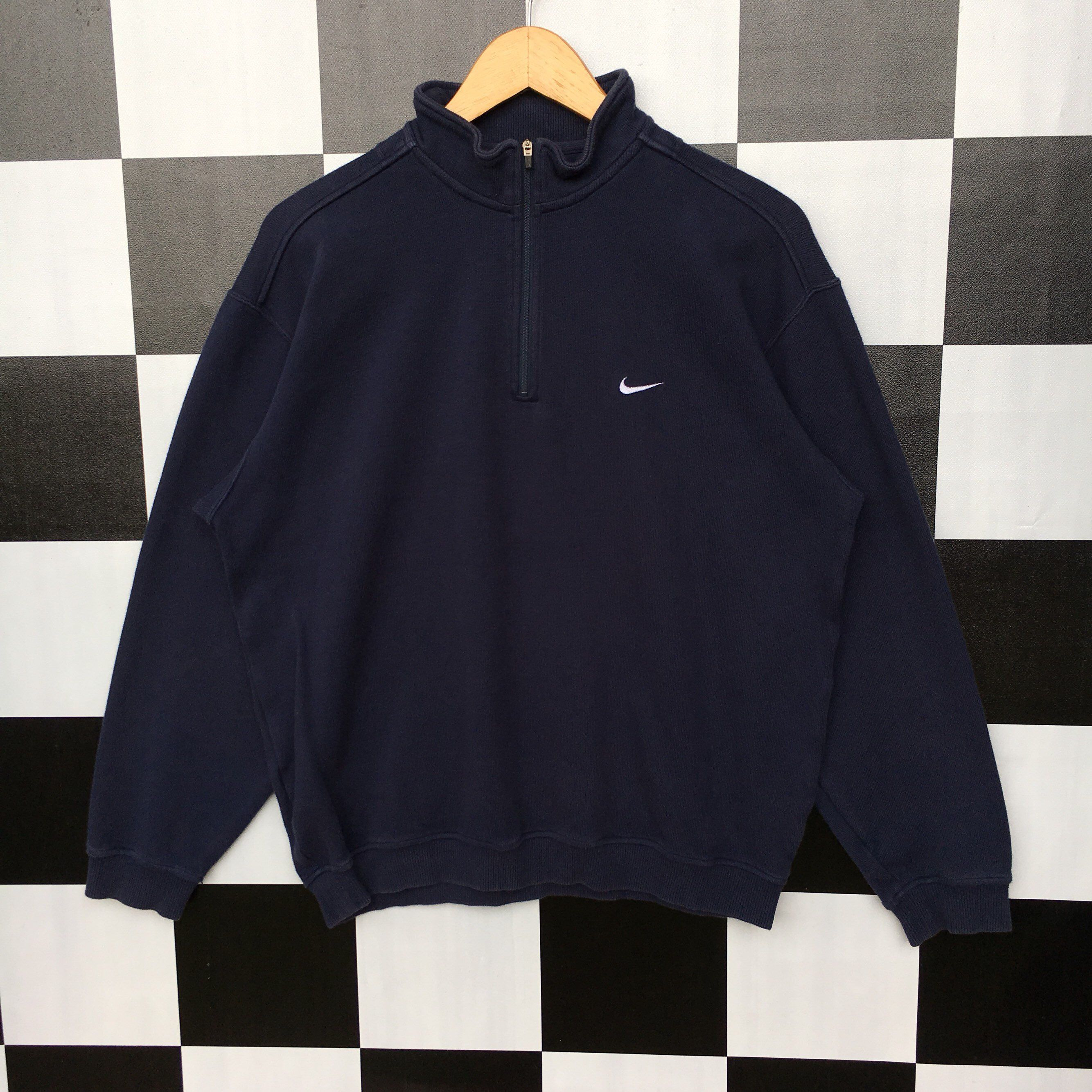 Excited To Share The Latest Addition To My Etsy Shop Vintage Nike Golf Half Zip Small Logo Sweatshi Vintage Nike Windbreaker Vintage Nike Half Zip Sweatshirt