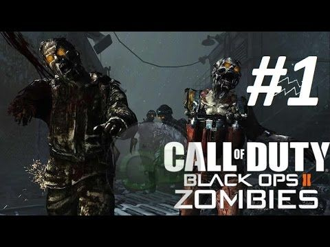 Call Of Duty Black Ops 2 Zombies Part 1 W Supermk Gamer Jogos