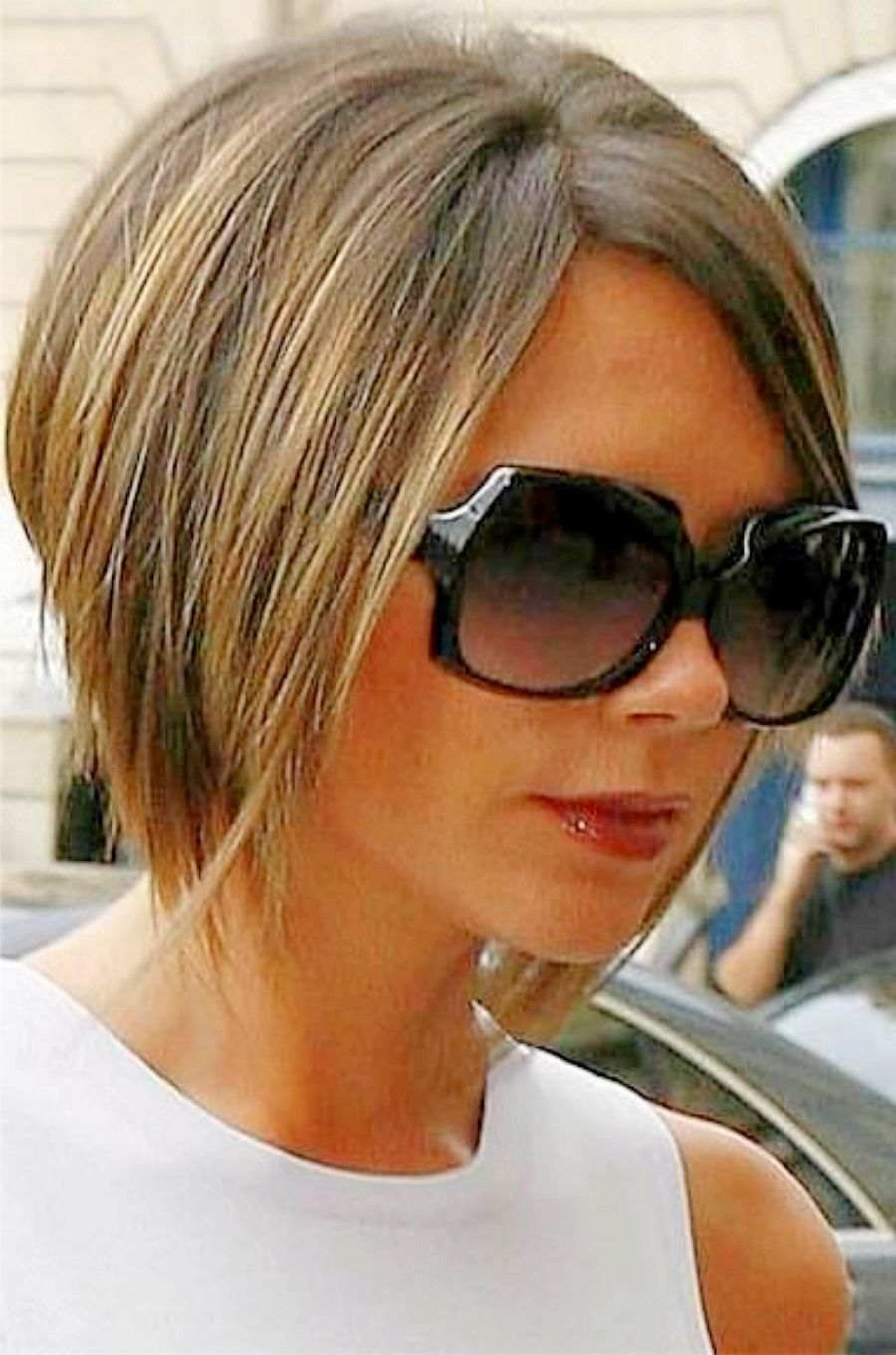 Victoria Beckham Hairstyles Side View Beckham Bob Haircut Victoria