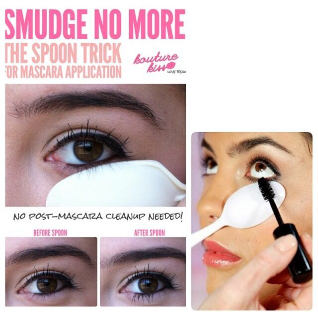 fc4a168a019 The spoon trick: How to apply mascara on your bottom lashes without smudging