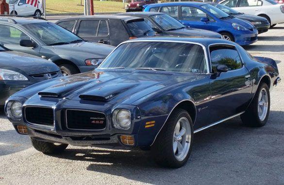 1973 Pontiac Firebird Formula | Cars On Line.com | Classic Cars For Sale