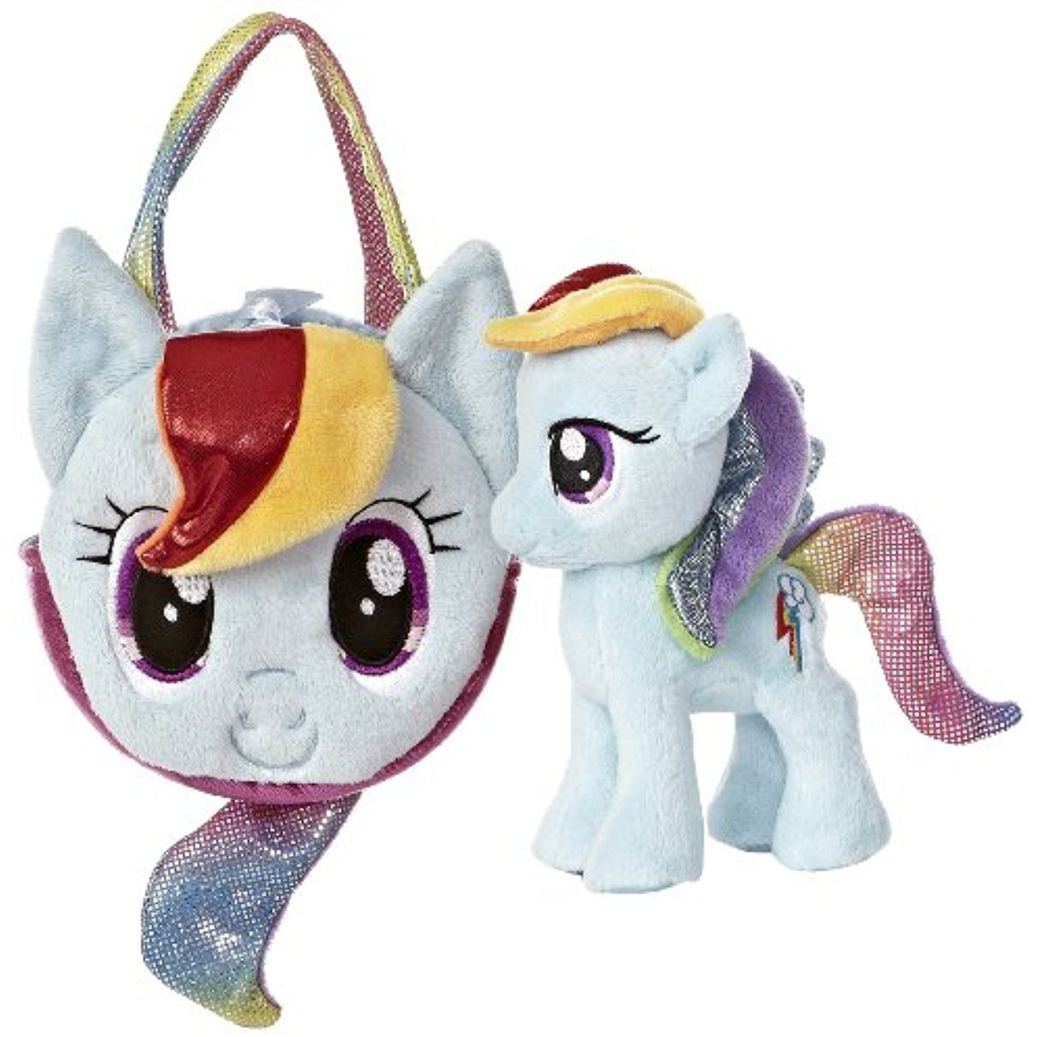 Aurora World My Little Pony Rainbow Dash Pony Tail Carrier Colors May Vary Check Out This Gre Teddy Bear Stuffed Animal Little Pony My Little Pony Backpack