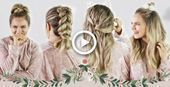 Photo of Christmas Morning Hairstyles Quick and Easy KayleyMelissa # Hairstyles #Christmas …