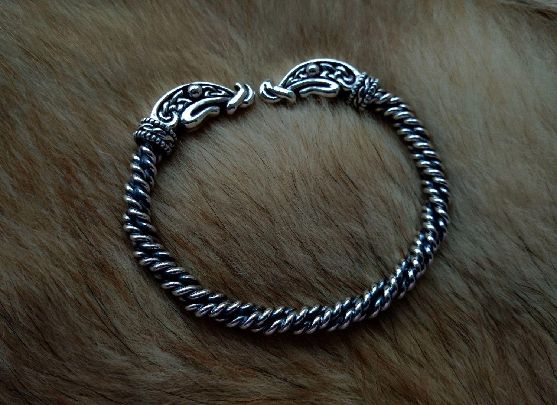 ragnar lodbrok bracelet sterling silver viking by berlogaworkshop berlogaworkshop pinterest. Black Bedroom Furniture Sets. Home Design Ideas