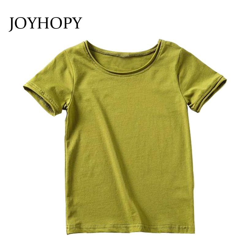 49e093980c0 Kids T shirt short sleeve boys girls tees tops Baby t shirts summer style  Solid Color